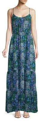 MICHAEL Michael Kors Remix Tiered Maxi Dress