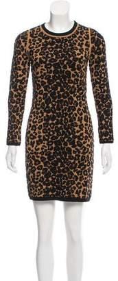 A.L.C. Leopard Mini Dress