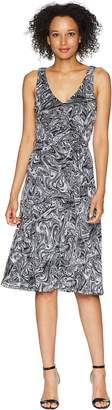 MICHAEL Michael Kors Watermark Tank Flare Dress Women's Dress