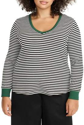 Universal Standard for J.Crew Jersey Tee (Plus Size)