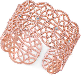 INC International Concepts I.n.c. Crystal-Studded Filigree Ring