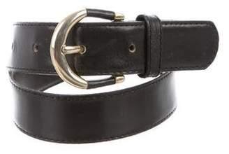Christian Dior Logo Waist Belt