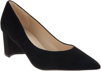 Marc Fisher Velvet or Leather Low-Heel Pumps - Mana
