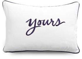 Yours Decorative Pillow