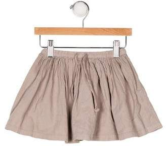 Bonton Girls' Flare Corduroy Skirt