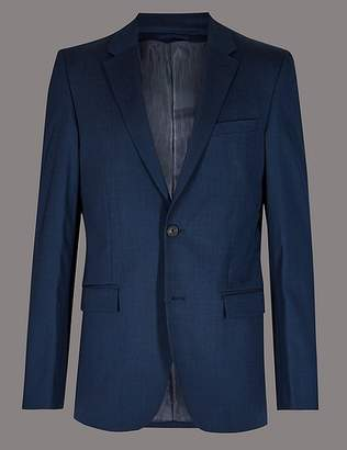 Marks and Spencer Tailored Fit Wool Rich with Stretch Jacket