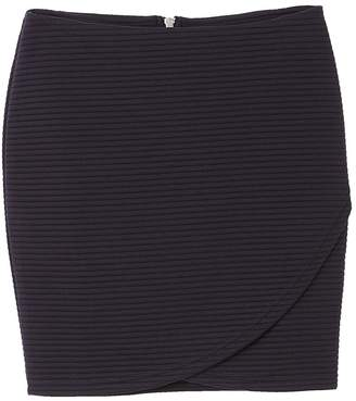 Only Ribbed Wrap Skirt