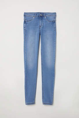 H&M Feather Soft Low Jeggings - Blue
