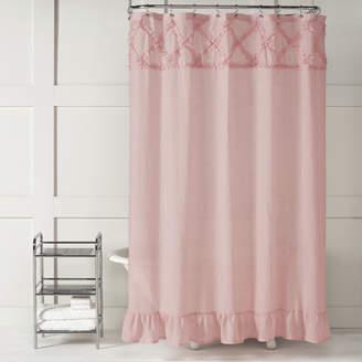 Saturday Knight Garden Crossing Shower Curtain