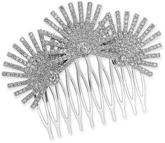 INC International Concepts I.n.c. Silver-Tone Crystal Starburst Hair Comb