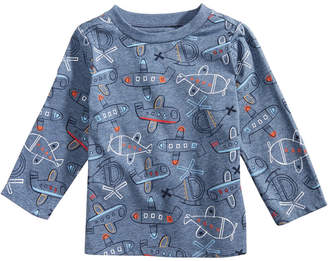 First Impressions Baby Boys Airplane-Print Shirt