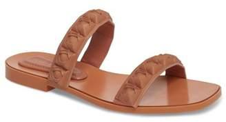 Stuart Weitzman Rosita Dual Strap Slide Sandal