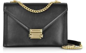 Michael Kors Whitney Large Leather Convertible Shoulder Bag