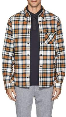 Aztech Mountain Men's Plaid Cotton Flannel Ski Shirt