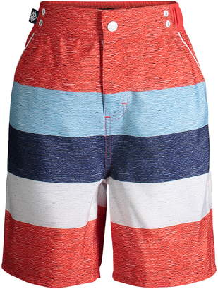 Andy & Evan Stripe Swim Trunks