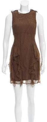 Burberry Lace Mini Dress