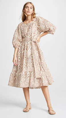 Lisa Marie Fernandez Laure Eyelet Dress