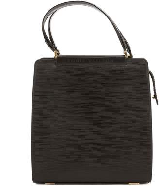 Louis Vuitton Noir Epi Leather Figari PM Bag (Pre Owned)