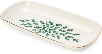 Lenox Holiday Bread Tray