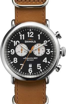 Shinola The Runwell 47mm Chrono Watch - Men's
