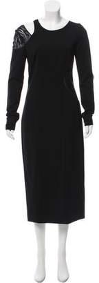 Jason Wu Lace-Trimmed Cutout Dress