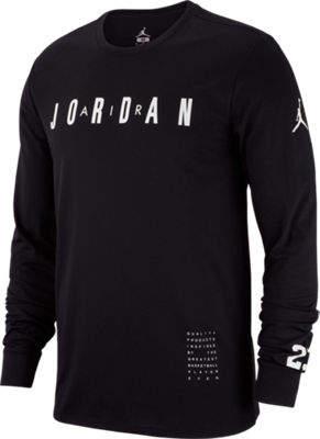 Nike Men's Air Jordan Basketball Long-Sleeve T-Shirt