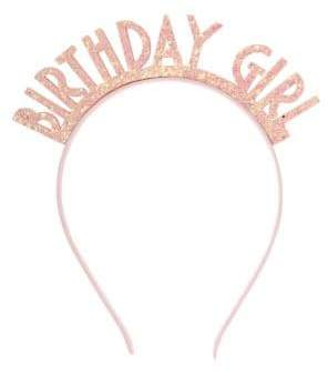 Capelli New York Girl's Birthday Girl Headband