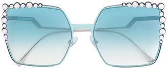Fendi Eyewear embellished sunglasses