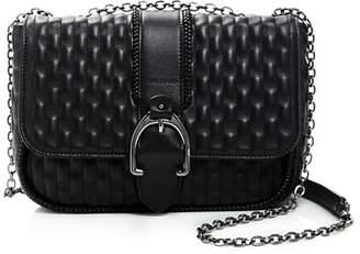 Longchamp Amazone Matelassé Small Leather Shoulder Bag