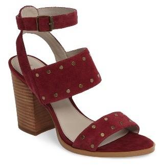 Women's Hinge Corrine Ankle Strap Sandal $99.95 thestylecure.com