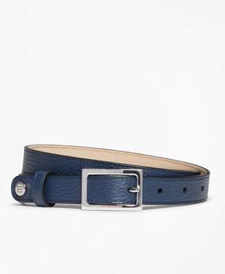 Brooks Brothers Pebbled Leather Belt