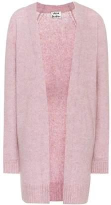 Raya wool and mohair-blend cardigan