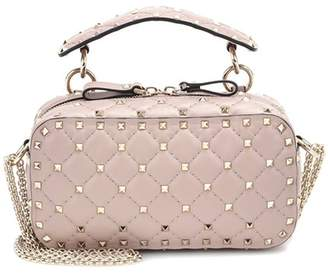 Valentino Rockstud Spike leather crossbody bag
