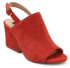 Kensie Edgar Suede Slingback Sandals