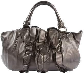 Prada Metallic Leather Handbag