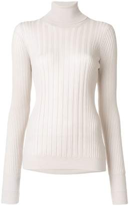 Maison Margiela ribbed turtleneck sweater