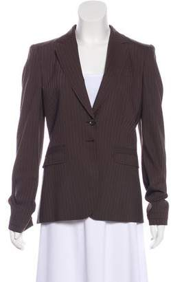 Gucci Pin-Striped Wool Blazer