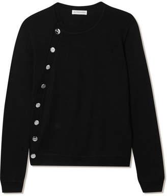 Altuzarra Minamoto Embellished Merino Wool Sweater - Black