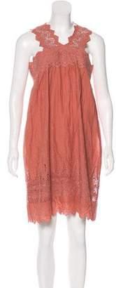 Ulla Johnson Sleeveless Eyelet Dress