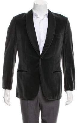 Gucci Velvet Shawl Collar Blazer