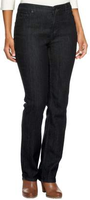 Liz Claiborne New York Petite Jackie Straight Leg Jeans