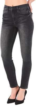 Nicole Miller New York Soho High-Rise Skinny Jeans, Gray