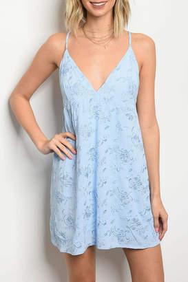 Honey Punch Light Blue Dress