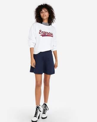 Express High Waisted A-Line Mini Skirt