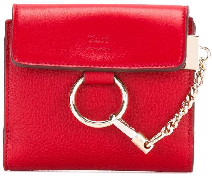 Chloé Chloé Faye square wallet
