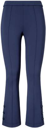Tory Sport TECH PONTE CROPPED BELL-FLARE PANTS