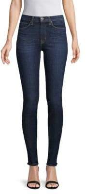 Hudson High-Waisted Super Skinny Ankle Jeans