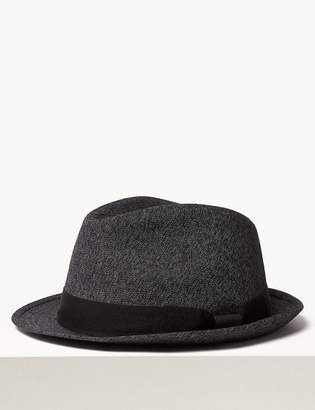Marks and Spencer Cotton Textured Trilby