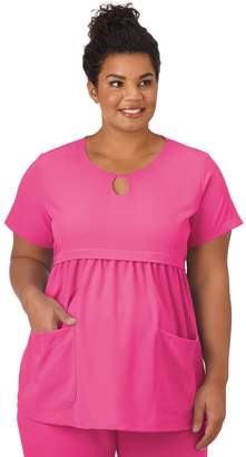 40e7ed5dc9926 Jockey Plus Size Maternity Scrubs Empire Waist Top