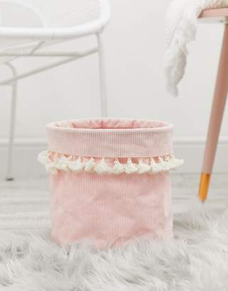 CHICKIDEE Chickidee cord tassel storage basket or planter
